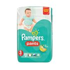 Pampers Baby-Dry Size 3 Jumbo Pack, 60 Nappy Pants x 2