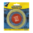 Sellotape Clear Tape Refill 18 1ea