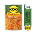 Koo Mild & Spicy Chakalaka 410g