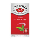 Five Roses Tagless Teabags 26ea