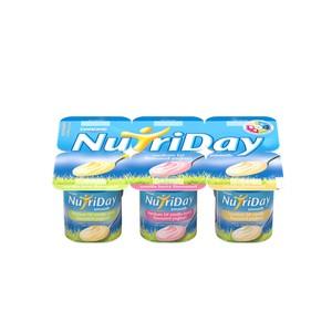 Danone Nutriday Smooth Vanilla Yoghurt 6x100g