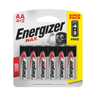 Energizer Max AA 6 Pack