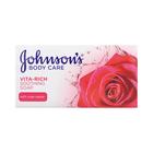 Johnson's Vita Rich Soothing Rose Soap 175g