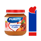 PURITY Jar Vegetables & Lamb 125ml from 7 Months
