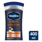 Vaseline Body Lotion For Men Even Tone 400ml