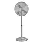 AIM 40cm Pedestal Fan Silver