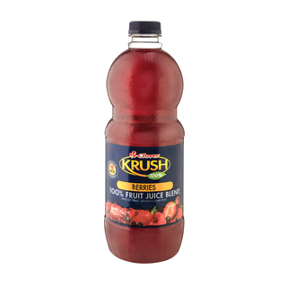 Clover Krush 100% Berries Fruit Juice Blend 1.5l