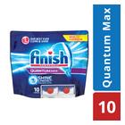 Finish Quantum Dishwash Tabs Doy Pak 10ea