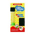 Dishmatic Bonus Kit with Fillable Handle and 6 Sponge Refills