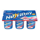 Danone Nutriday Smooth Strawberry Yoghurt 6s x 100g