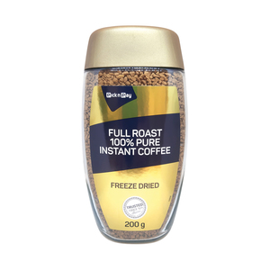 PnP Full Roast 100% Pure Instant Coffee 200g