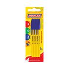 Penflex Pen Fine Blue 5ea