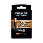 Duracell Optimum AAA 6 Pack