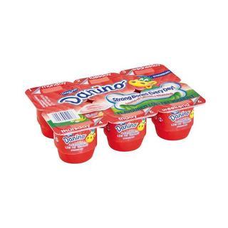 Danino Smooth Strawberry Yoghurt 6s