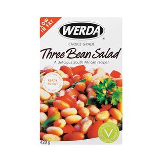 Werda Three Bean Salad 420g