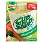 Knorr Cup-A-Soup Lite Summer Vegetable 4s