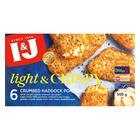 I&J Light & Crispy Haddock 500g