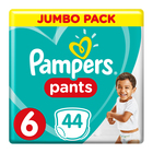 Pampers Baby-Dry Size 6 Jumbo Pack, 44 Nappy Pants