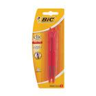 BIC Red Clic Ballpen 2s