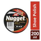 Nugget Black Shoe Polish 200 Ml