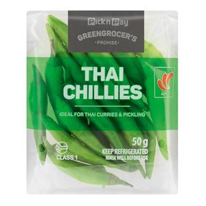 PnP Thai Chillies 50g