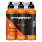 Powerade Orange Sports Drink 500ml x 6
