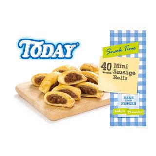Today Mini Sausage Rolls 40s