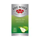 Five Roses Green Tea Apple & Pear 20ea