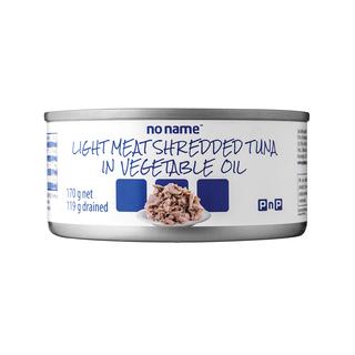 PnP No Name Shredded Tuna in Water 170g