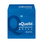 Aquelle Still Natural Spring Water 5l x 4