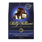 Sally Williams Nougat Milk Chocolate & Almond 125g