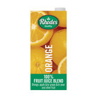 Rhodes 100% Orange Fruit Juice Blend 1l x 6