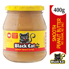 Black Cat Smooth Peanut Butter No Sugar & Salt 400g