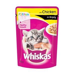 Whiskas Kitten C/f Chicken In Gravy 85gr