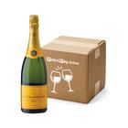 Veuve Clicquot Yellow Label Champagne 750ml x 6