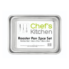Chef's Kitchen Roaster Pan Set
