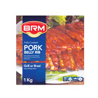 BRM BBQ Pork Belly Ribs - St Louis Style 1kg