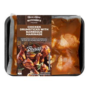 PnP Braai Chicken BBQ Drumsticks - Avg Weight 740g