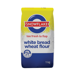 Snowflake White Bread Flour 1kg