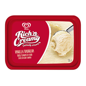 Ola Ice Cream Vanilla 1.8l