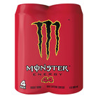 Monster Energy Drink Lh44 500ml x 4