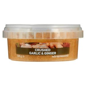 PnP Crush Ginger & Garlic 125g
