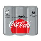 Coca-Cola Light Can 300ml x 6