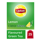 Lipton Clear Green Lemon Teabags 25s