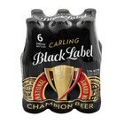 Carling Black Label 340ml x 6