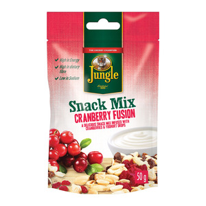 Jungle Snack Mix Cranberry Fusion 50g