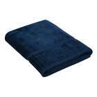 Colibri Velour Bath Sheet Navy