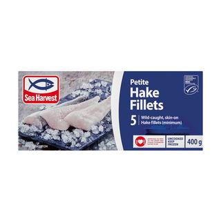Sea Harvest Petit Hake Fillets 400g