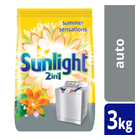 Sunlight 2 In 1 Summer Sensations Auto Washing Powder 3kg