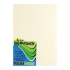 Butterfly A4 Pastel Board Mix 50ea